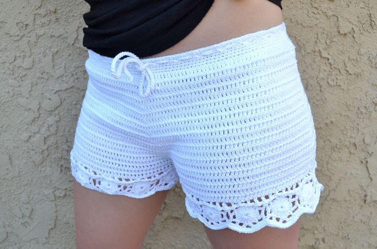 Super Soft And Comfy Cotton Crochet Shorts, Inspired By The Famous H&M Shorts From Their Discontinued Conscious Collection. Custom Made To Fit Your Needs. Order Size Small, Medium, Or Large, Or Contac