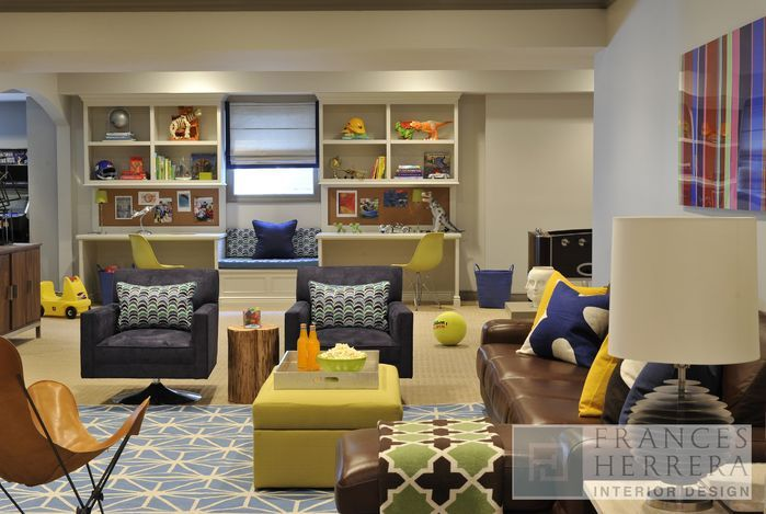 222 best childrens play rooms images on pinterest for Kids rec room ideas