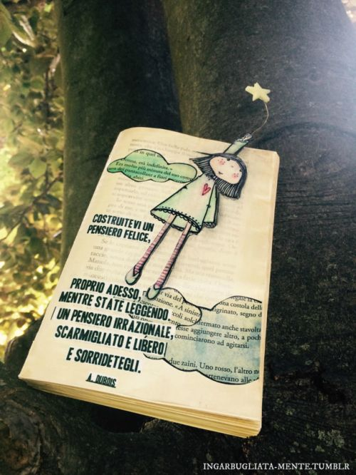 -a volte, i pensieri felici si arrampicano sugli alberi-