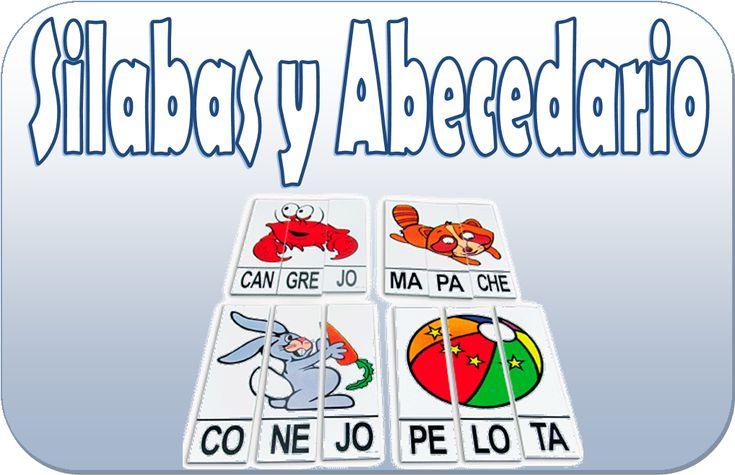 Excelente material para trabajar las silabas y el abecedario para poder trabajar con los alumnos de primer y segundo grado
