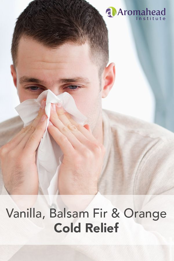 You can use this cold relief recipe when you first feel yourself coming down with something, and to give you comfort and relief when you're already sneezing and sniffling.