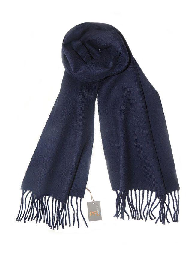 PFL Klassieke blauwe sjaal unisex, gemaakt van superzachte baby alpacawol MEER  http://www.popsplaza.nl/?p=71635