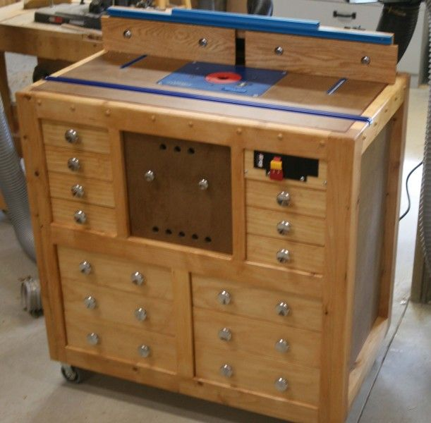 Router Table …killer for expediting projects.