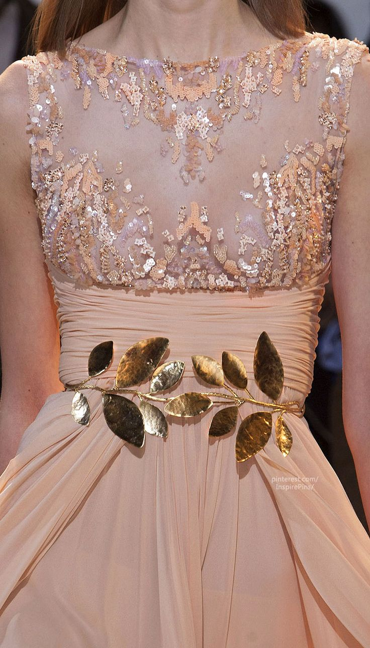 Couture Spring 2014 - Zuhair Murad (Details) #PurelyInspiration