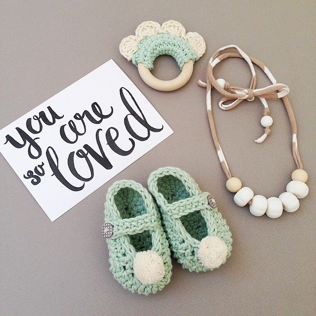 """""""Putting together a few little bits for my friends teeny tiny baby girl that arrived today!"""""""