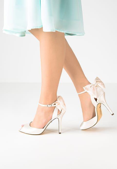 Pumps Nina Shoes MILEENA - Peeptoes - ivory Gebroken wit: € 77,95 Bij Zalando (op 15-2-17). Gratis bezorging & retournering, snelle levering en veilig betalen!
