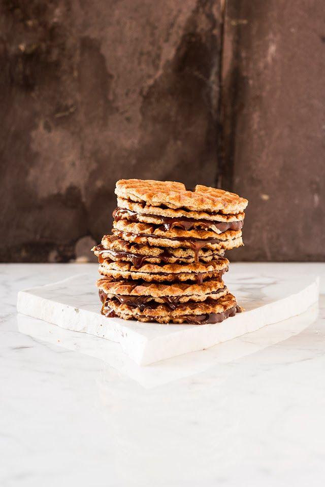 mbakes: Waffle Iron Stroopwafels {Caramel Waffles}