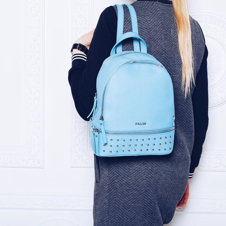 Удобный, вместительный рюкзак нежного голубого оттенка💙 прекрасно подойдет как для спортивного, так и повседневного образа 🌟 Арт: 14890AS-882 #respectshoes #iloverespect #shoes #ss17 #shopping #обувьреспект #шоппинг #мода #весна #веснавrespectshoes