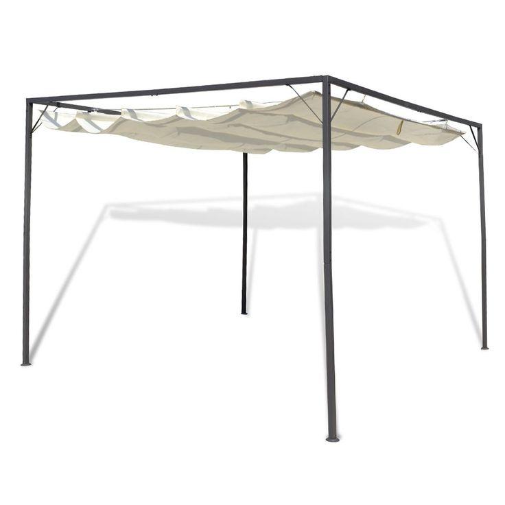 garten pavillon terrassen berdachung gartenmarkise standmarkise markise pergola terrasse. Black Bedroom Furniture Sets. Home Design Ideas