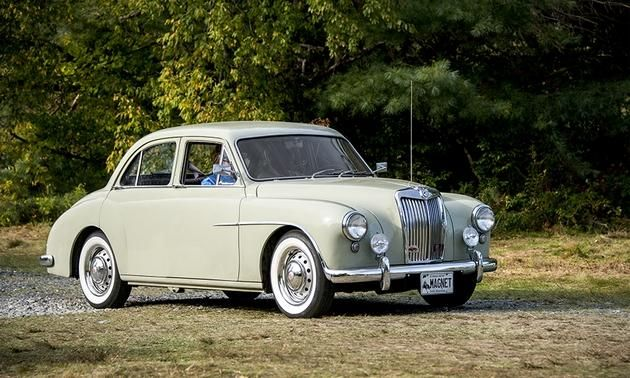 MG Magnette Photo by: Jay Ramey