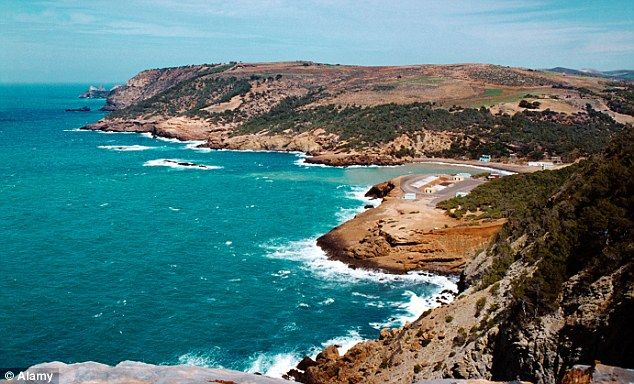 Algerian coastline #Algeria