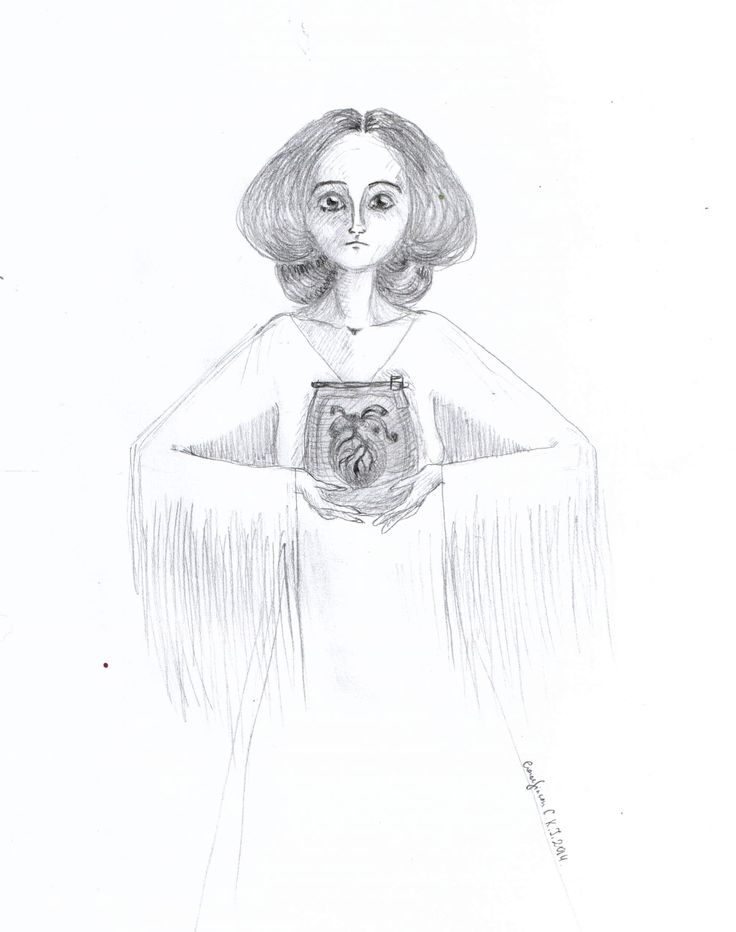 I give you my love - by Caranfinwen #jar #heart #love #pencil