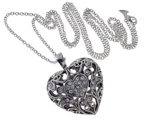 Bubbly Heart Necklace
