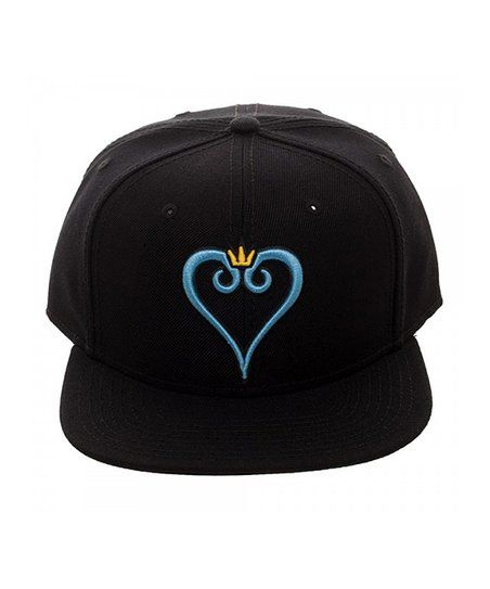 Bioworld Heart Embroidered Baseball Cap Zulily Black Snapback Hats Embroidered Baseball Caps Black Snapback