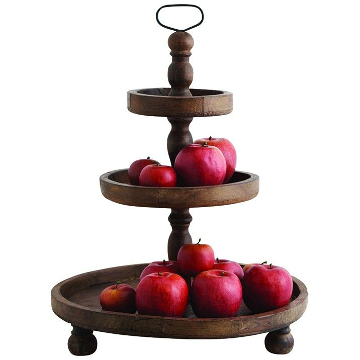 """Antique"" 3 Tier Stand - Tiered Stands - Tableware - Dining"
