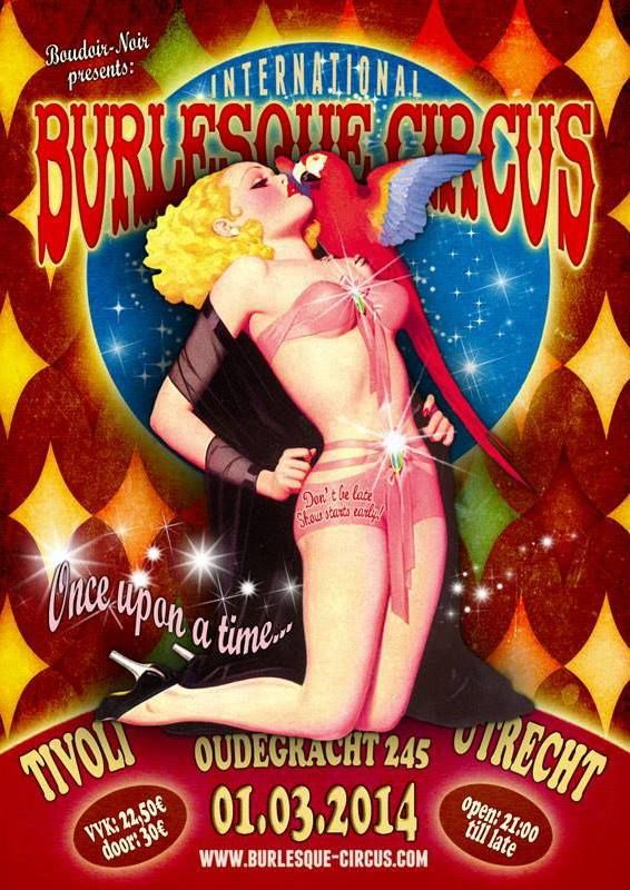 The Once upon a time edition of the International Burlesque Circus 01/03/2014