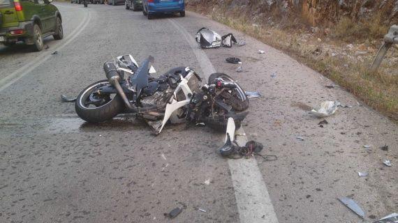 Ένας ακόμη νέος χάθηκε σε τροχαίο με μηχανή