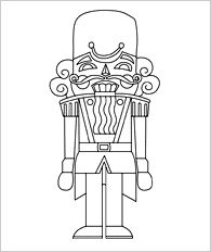 christmas nutcracker coloring pages printable - photo#22