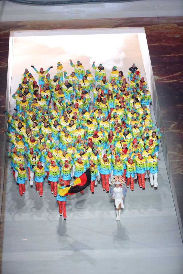 Sochi 2014 olympics Germany's colorful outfits