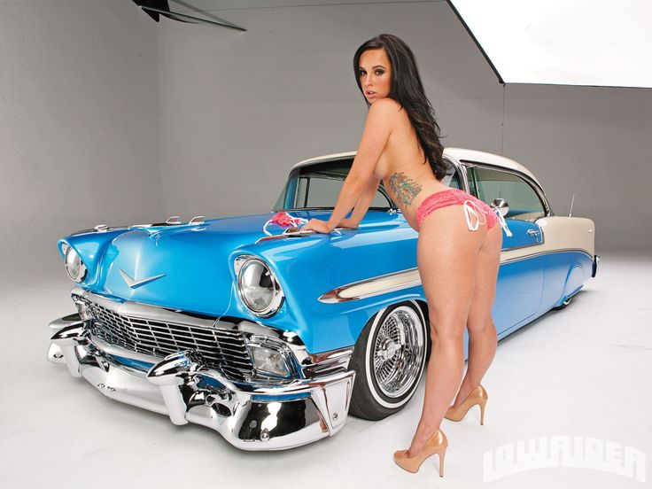 hot toples chicks with hot rods