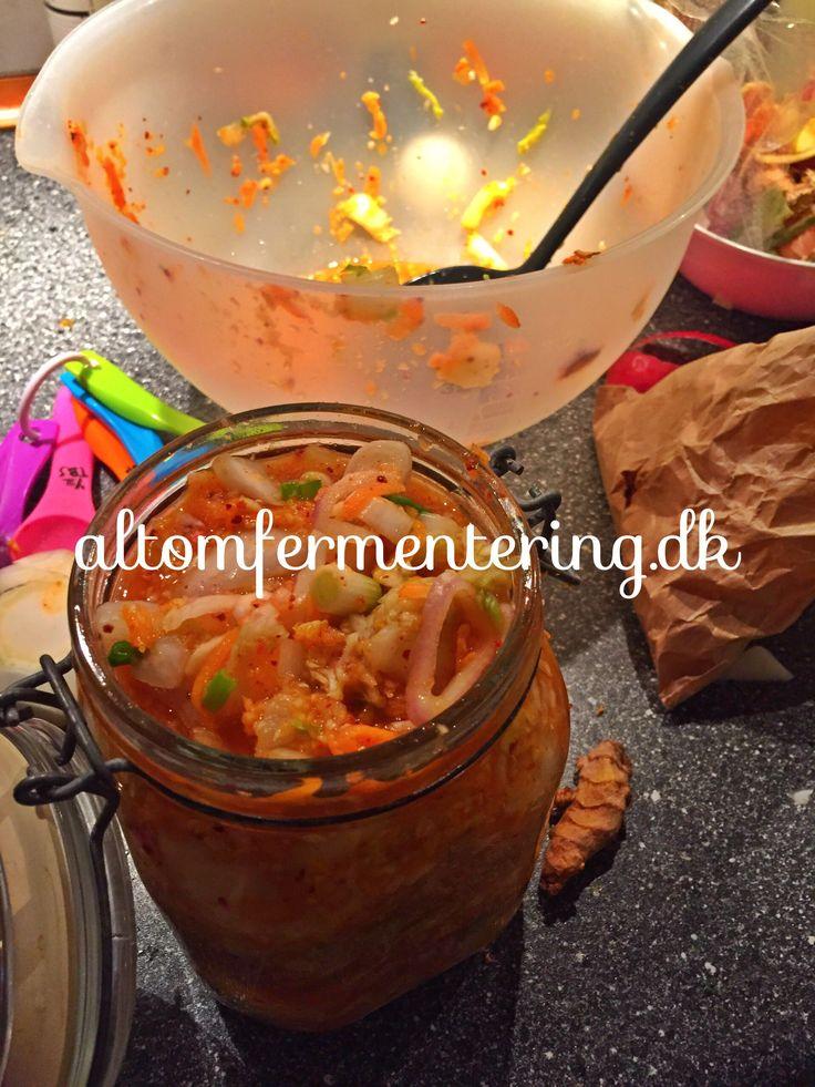 Kimchi på den nemme måde | ALT OM FERMENTERING