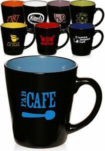 12 Oz. Two Tone Latte Mugs