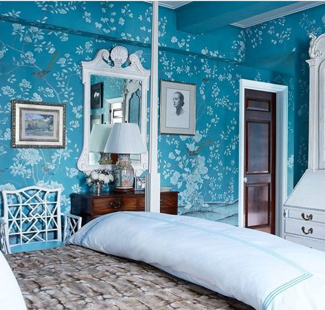 248 best wallpaper interior design images on Pinterest Fabric