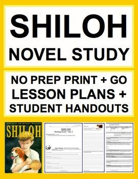 photo regarding Shiloh Worksheets Printable named Shiloh systems of analysis