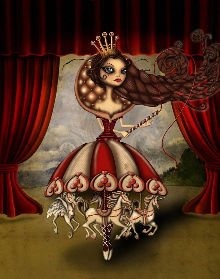 Madame Carousel by Ceren Aksungur (dolcebabanne on DeviantArt)