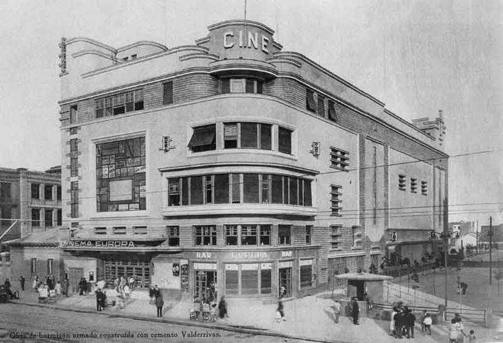 Madrid- Edificio del Cinema Europa, en Bravo Murillo 160. Fue un cine, una checa…