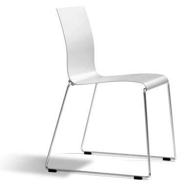 Sting is an exceptionally stackable chair in aluminium and stainless steel. Sting is linkable and can be used both indoors and outdoors. Sting is very comfortable with a slight movement and is usable in many different environments; indoors, outdoors, cafés, canteens, conference centres and more. Sting is also available as armchair. Sting natural anodised is eco-labelled with the Nordic Swan and is 100 % recyclable. Designers: Stefan Borselius, Fredrik Mattson
