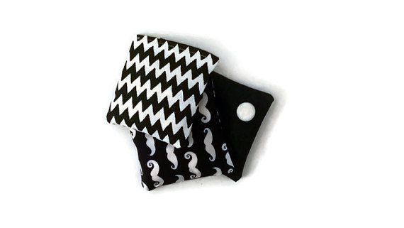 Geometric Bean Bags   Black and White Toy  by HandmadeNorway
