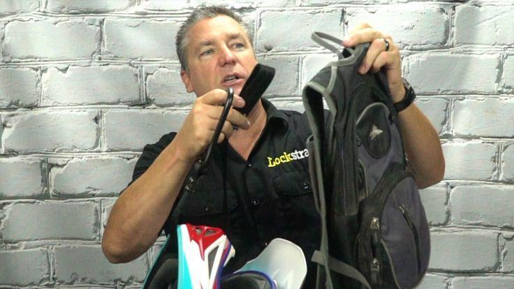Lockstraps Enduro Street Bike Helmet Lock