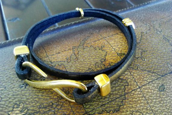 Check out this item in my Etsy shop https://www.etsy.com/listing/482479283/bracelet-handmade-leather-with-gilt