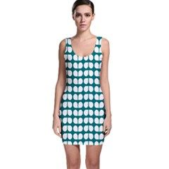 #Creativemom #bodycon #dresses - Teal And White Leaf Pattern Background Design.