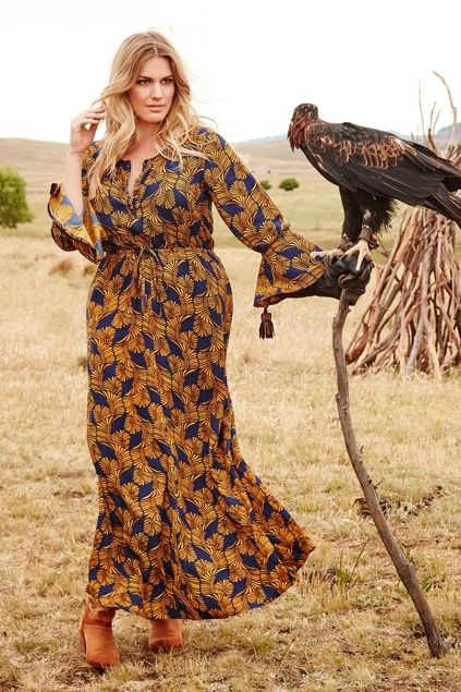 boho bird Stand Tall Maxi Dress - Womens Maxi Dresses - Birdsnest Australia