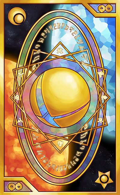 Smash Bros - Tarot and Clow Card inspired Back by Quas-quas on DeviantArt #SSB #TarotCards