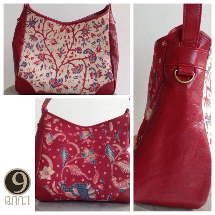 Astari vintage bag with batik lasem motif