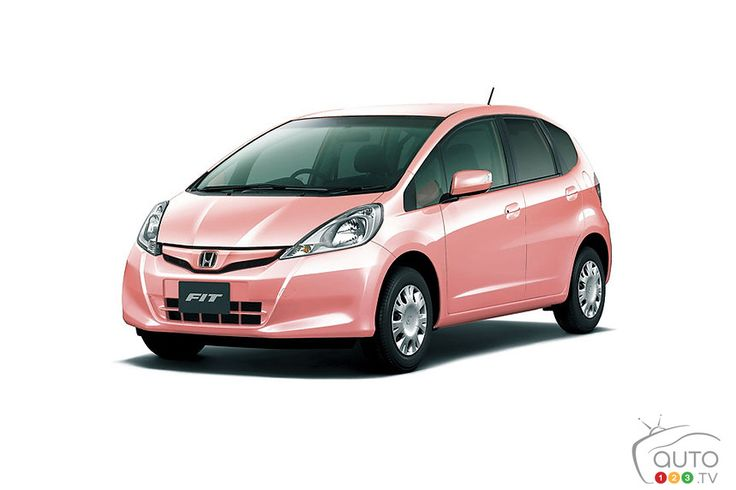 2013 Honda Fit That Is Just For Her. Assuming Women Only Want To Drive Pink  Cars.