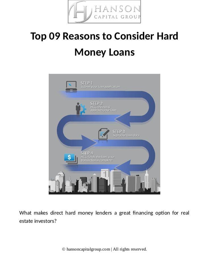 Best 25 Hard money lenders ideas on Pinterest Money lenders