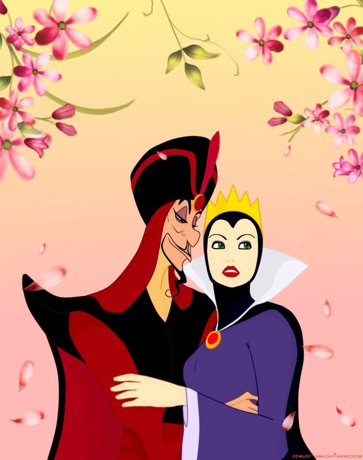Jafar x evil queen beauty by comuto - Evil queen disney ...