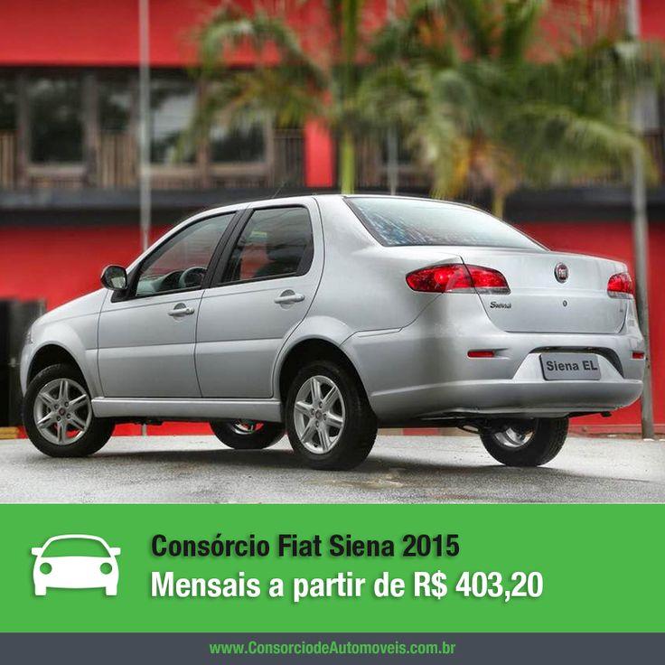 O Fiat Siena é um dos principais sedãs disponíveis no mercado e agora está mais moderno e com mais itens de série na linha 2015. Confira: https://www.consorciodeautomoveis.com.br/noticias/consorcio-fiat-siena-2015-a-partir-de-r-403-20-mensais?idcampanha=206&utm_source=Pinterest&utm_medium=Perfil&utm_campaign=redessociais