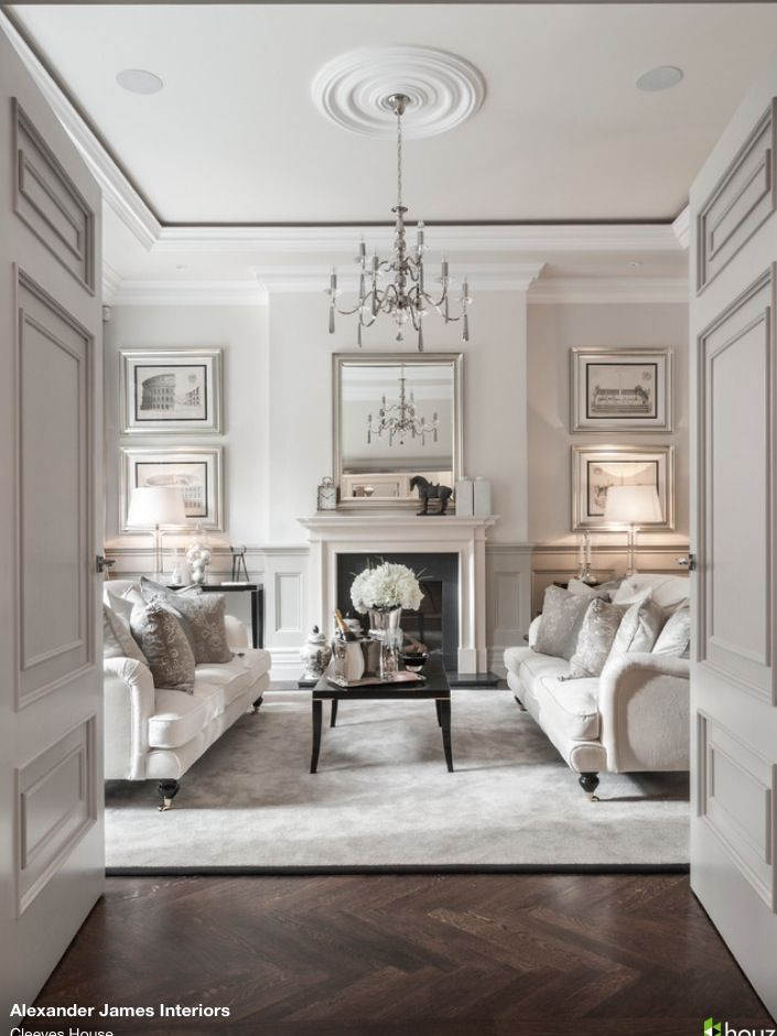Old Pine Floors And Long Curtains Gray Aqua White Dining Room Master Bedroom Inspiration Alexander James Interiors London