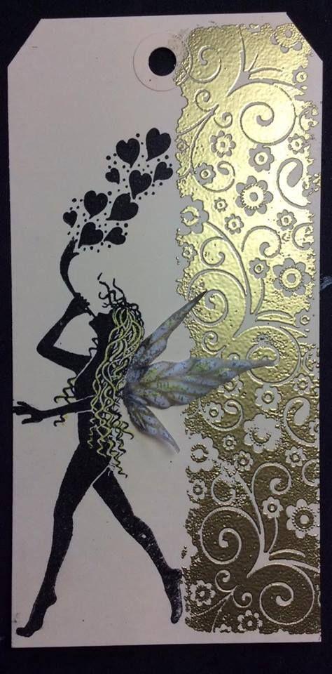 melissa-latchem D.T Samples Decembers Challenge Magical( lavinia stamps)