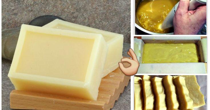 Come fare il sapone fatto in casa passo a passo-5 ricette