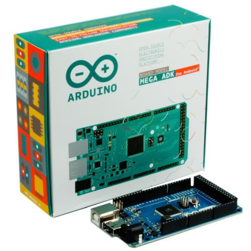 Arduino Mega ADK for Android and Retail Packaging