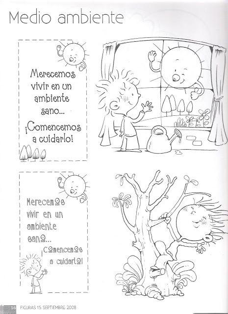 Menta Más Chocolate - RECURSOS y ACTIVIDADES PARA EDUCACIÓN INFANTIL: Carteles MEDIO AMBIENTE