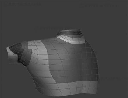 #HippyDrome.com 3/4th Shoulder Deformation Up Down Back