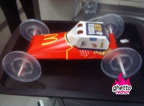 New McDonalds kid's toy... totally wanna go to Mickey D's now and make one!!