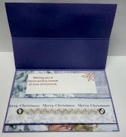 BaRb'n'ShEll Creations - Robin cards, easel inside - BaRb